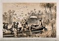 Henry Morton Stanley and David Livingstone on the River Ruzi Wellcome V0018843.jpg