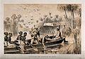 Henry Morton Stanley and David Livingstone on the River Ruzi Wellcome V0018843.jpg