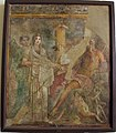Hera vestita da sposa, spinta da iride verso zeus, 9559.JPG