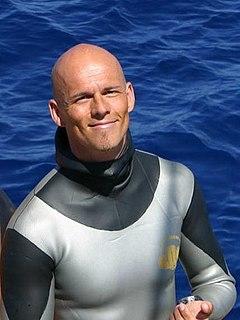 Herbert Nitsch Austrian freediver and world record holder