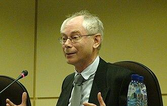 Bart De Wever - Image: Herman Van Rompuy at the Belgian Chamber of Representatives 20081205
