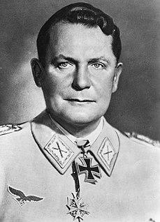 Hermann Göring German Nazi politician and military leader