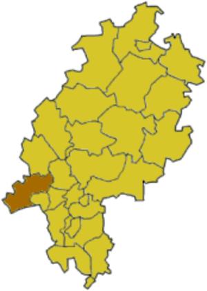 Rheingau-Taunus-Kreis - Image: Hesse rued