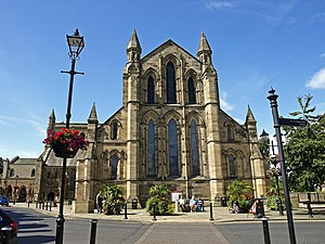 Hexham Abbey - geograph.org.uk - 1447992.jpg