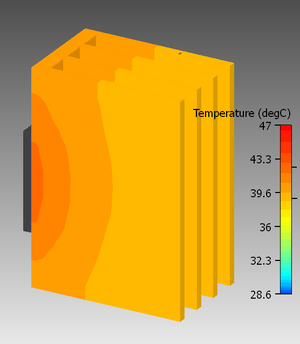 Fin (extended surface) - Image: High efficiency fins
