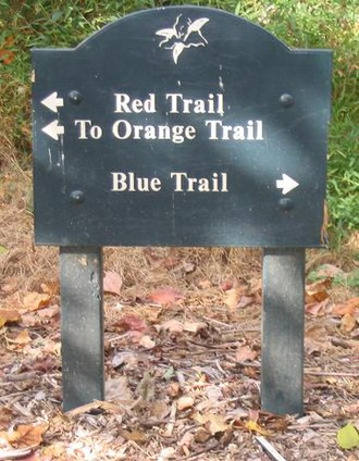 Hazards of outdoor recreation - In some parks, hiking trails are clearly and accurately labeled.