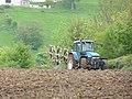 Hillside ploughing -2- - geograph.org.uk - 1860370.jpg