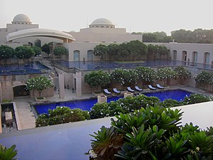 Trident Hotel in Gurgaon.