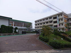 Hiroshima City Hirshima Commercial High School 140906.JPG