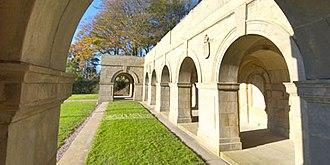 Sedbergh School - Image: Hist cloisters 1