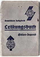 Hitlerjugend leistungsbuch gross