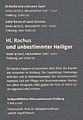 Hl. Rochus + Heiliger, Beschriftung.JPG