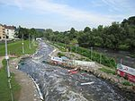 Hohenlimburg, Wildwasserpark Ziel 2.JPG