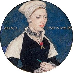 Jane Pemberton Small - Image: Holbein, Hans (II) Mrs Jane Small, formerly Mrs Pemberton Google Art Project