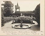 Holland House in 1907 by J. Benjamin Stone - Dahlia Garden.jpg