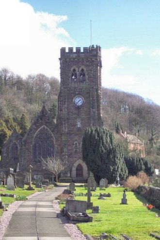 Arthur Charles Fox-Davies - Holy Trinity Church in Coalbrookdale, where Fox-Davies is buried.
