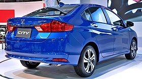 Honda City (sixth generation) rear.JPG
