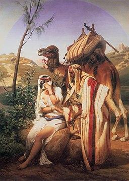 Horace Vernet-Judah n Tamar 1840