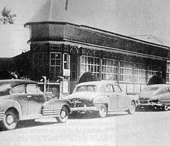 Ross Hotel, at that times Great Hotel Pichilemu, in 1932.