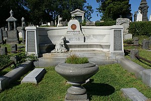 The gravesite of Harry Houdini