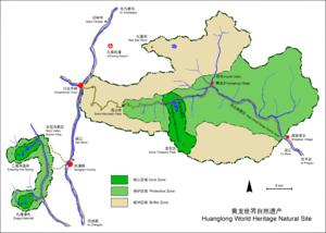 Huanglong, Sichuan - HuangLong World Heritage Natural Site