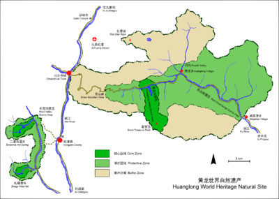 HuangLong World Heritage Natural Site