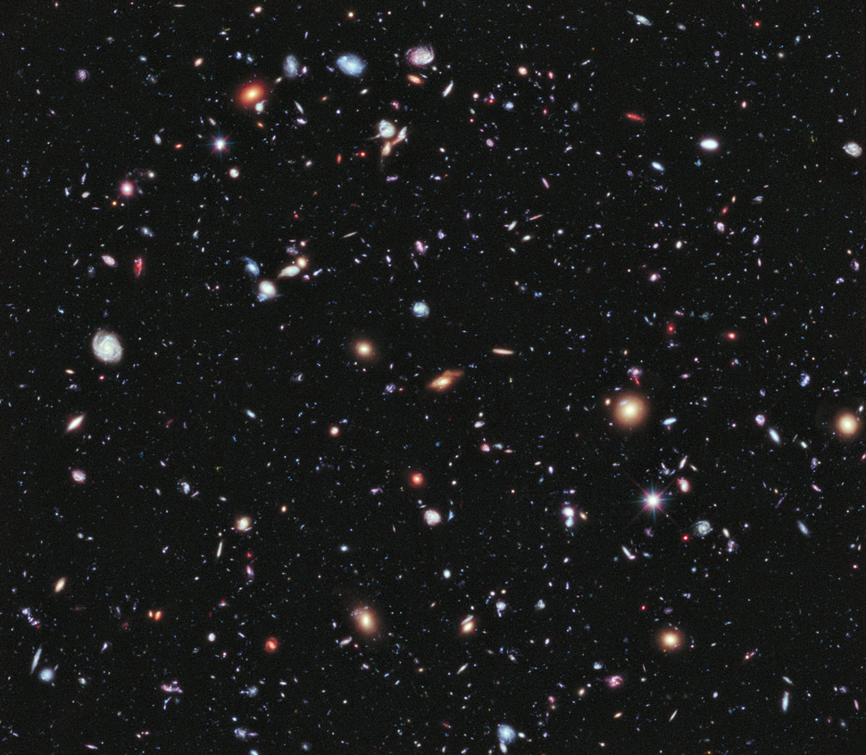 Hubble Extreme Deep Field (full resolution)