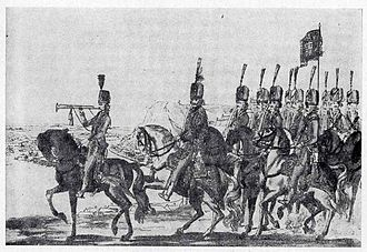 Nobility - Hungarian hussar troops set up by the Hungarian nobility, during the Austro–Turkish War of 1787–1791.