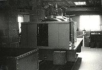 "Hunslet locomotive ""Rough Pup"" at the Narrow Gauge Railway Museum.jpg"
