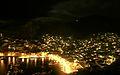 Hydra Harbour at night.JPG