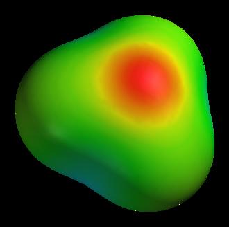 Hydronium - Image: Hydroxonium 3D elpot