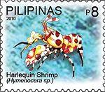 Hymenocera 2010 stamp of the Philippines.jpg