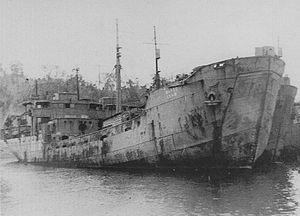 No.101-class landing ship - IJA SS craft No.19