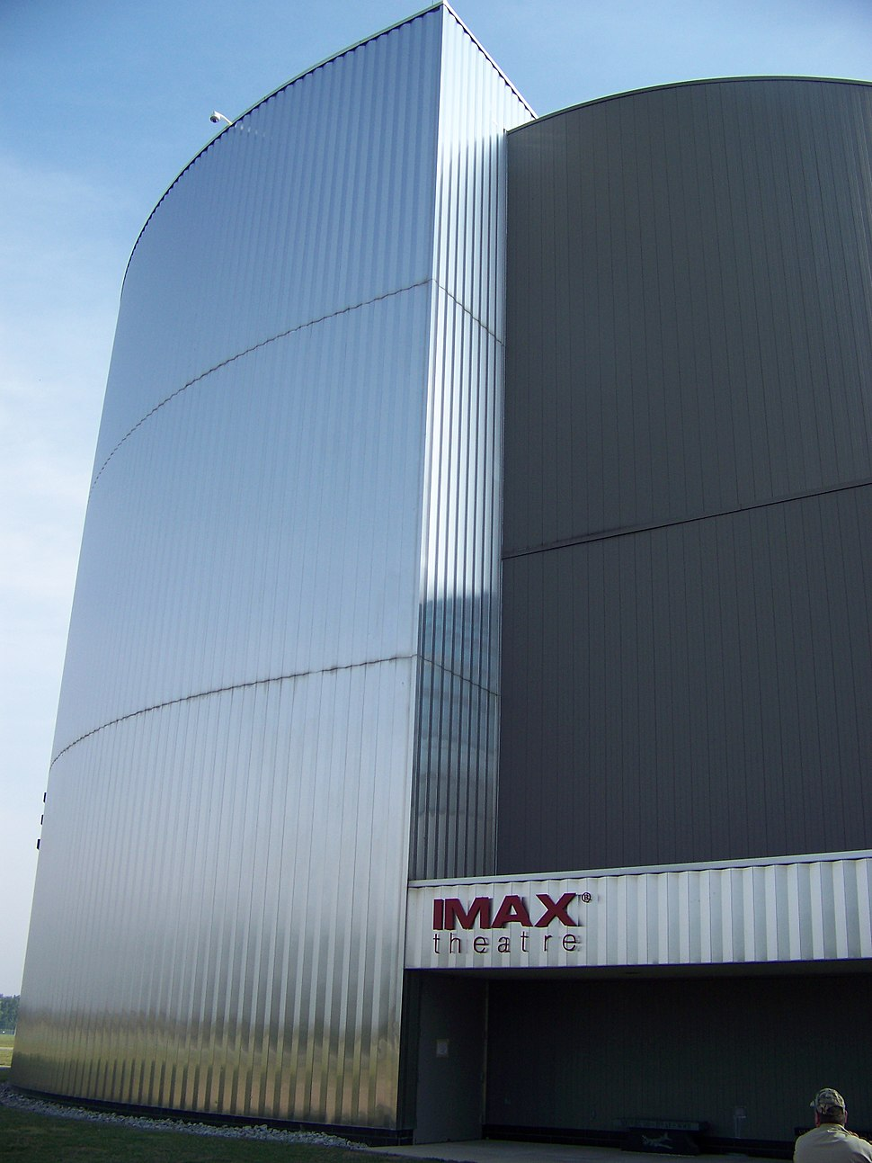 IMAX Theater - Wright Patt USAF Museum - Side View