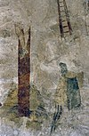 interieur, detail van schildering na restauratie - margraten - 20303692 - rce