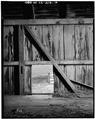INTERIOR - LOFT WALL - Kandt-Domann Farmstead, Barn, State Route 3, Hope, Dickinson County, KS HABS KANS,21-HOPE.V,1-B-14.tif