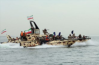 Navy of the Islamic Revolutionary Guard Corps - Image: IRGC naval execise 2015 (3)