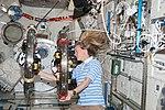 ISS-36 Karen Nyberg in the Kibo lab.jpg
