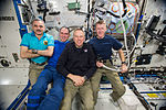 ISS-46 Four crew members in the Destiny lab.jpg