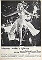 I dreamed I walked a tightrope in my maidenform bra, 1961.jpg