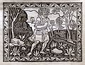 Iacobus de Cessolis, Libro di giuocho di scacchi, incunabolo, per maestro antonio miscomini, firenze 1 marzo 1493, 17 rubaldi.jpg