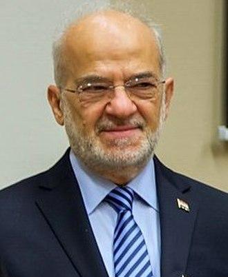 2010 Iraqi parliamentary election - Image: Ibrahim al Jaafari portrait