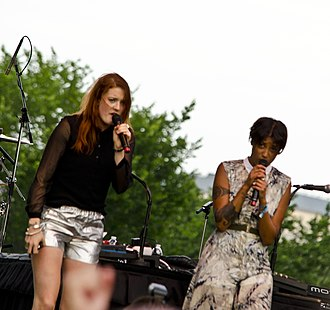 Icona Pop - Icona Pop performing at Capital Pride in Washington, D.C. on 9 June 2013