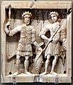 Icona coi ss. teodoro e giorgio, salonicco, 1010 ca.jpg