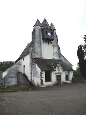 Idaux-Mendy - Trinitarian church of Idaux / Idauze.