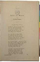 Friedrich Nietzsche: Idyllen aus Messina