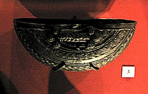 History of Nigeria - A bronze ceremonial vessel made around the 9th century found at Igbo-Ukwu.