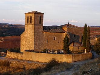 Angón - Image: Iglesia de Santa Catalina en Angon