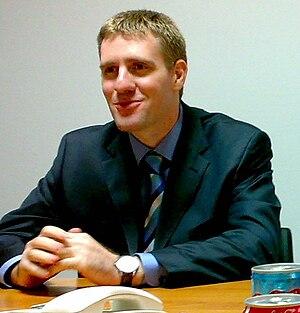 Igor Luksic, Minister of Finance, Montenegro