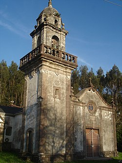Parish church of San Xurxo de Moeche.